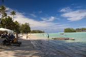Rarotongan Beach — 图库照片