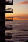 Surfers Paradise balcony — Stock Photo