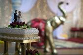 Indian wedding cake — Stock Photo