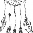 Dreamcatcher — Stockvector #10645505