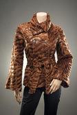 Fur Coat — Stock Photo