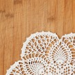 Vintage crochet doily — Stock Photo #10051233