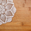 Vintage crochet doily — Stock Photo