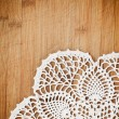 Stock Photo: Vintage crochet doily