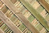 Fint trä staket — Stockfoto