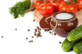 Taze bahar sebzeler — Stok fotoğraf