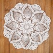 Vintage crochet doily — Stock Photo #9995466