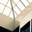Stock Photo: Abstract atrium seiling view