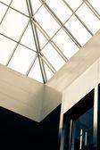 Atrium abstrata vender vista — Fotografia Stock