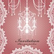 Luxury chandelier background design — Vektorgrafik