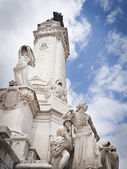 Monument of Marques de Pombal in Lisbon, Portugal — Stock Photo