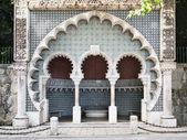 Strada fontana moresca a palazzo pena — Foto Stock