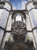 Close-Up Entrance of Pena National Palace — Stock Photo