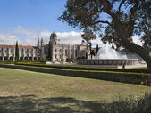 View of Jeronimos Monastery at Lisbon — Stock Photo