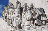 Close Up Monument to the Discoveries at Lisbon, Portugal — Stock fotografie