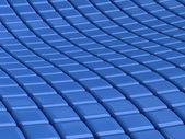 Blue square background — Stock Photo