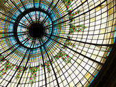 Dome of the Palace Hotel in Madrid, Spain — Stock Photo