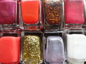 Nail polishes — Stock Photo