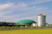 Biogasanlage - biogas plant 74 — Stock Photo