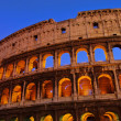 Rom Colosseum by night 01 — Stock Photo