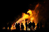 Walpurgis Night bonfire 104 — 图库照片