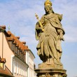 Bamberg empress Kunigunde statue 04 - Stock Photo