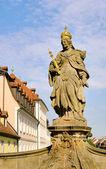 Bamberg empress Kunigunde statue 04 — Stock Photo