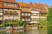 Bamberg Little Venice 08 — Stock Photo