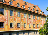 Bamberg townhall detail 05 — Stock Photo