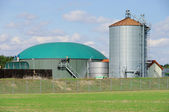 Biogas plant 71 — Stock Photo