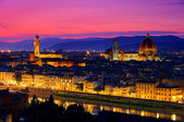 Florence evening 01 — Stock Photo