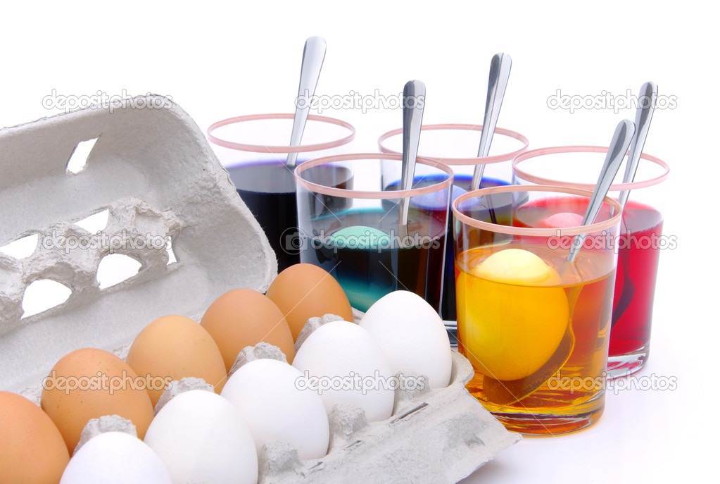 Easter eggs colour 10 — Stock Photo #10283174