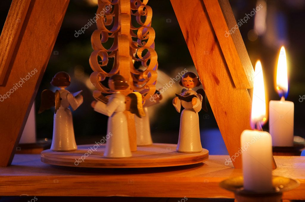 Christmas pyramid 01 — Stockfoto #10344215