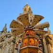 Стоковое фото: Dresden christmas market church of our lady 01
