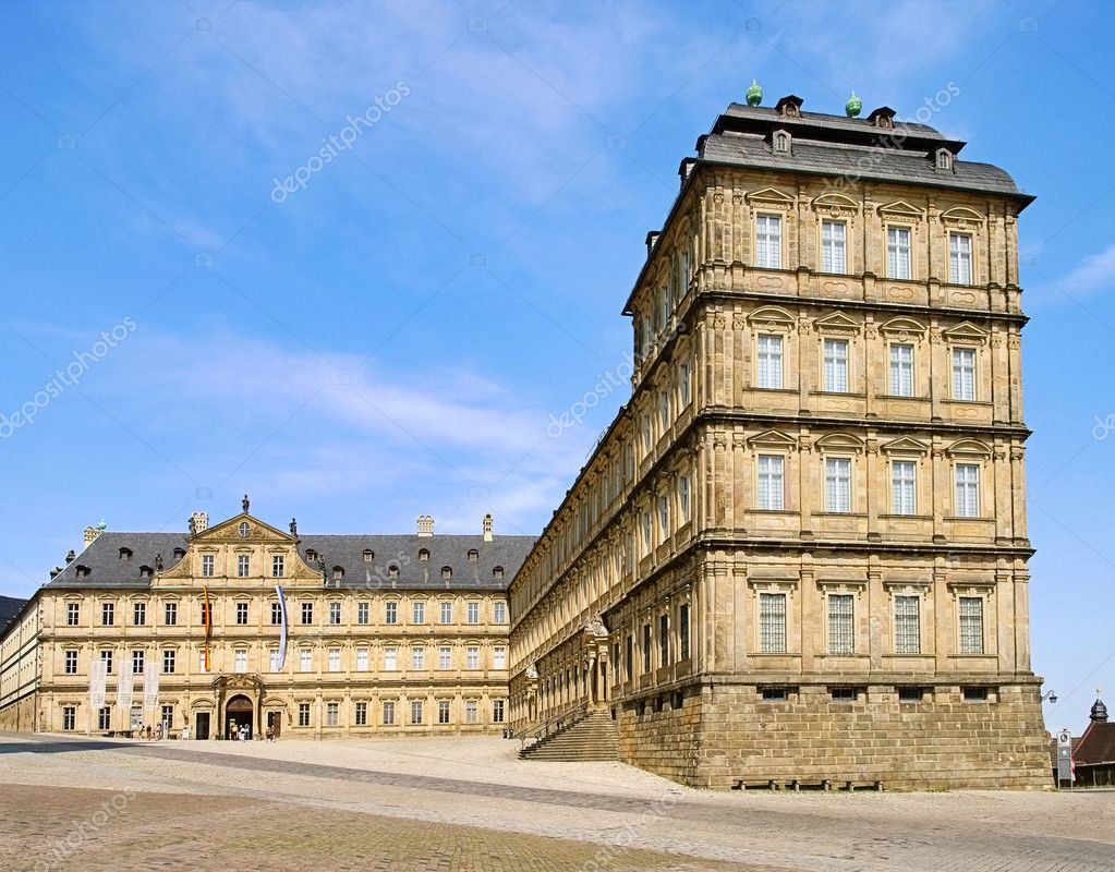Bamberg New Palace 03 — Stock Photo #10365358