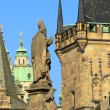 Prague towers 06 — Stock Photo