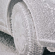 Stock Photo: Snow tire 01