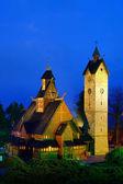 Karpacz church Vang 01 — Stock Photo