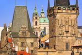 Prague towers 07 — Stock Photo