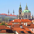 Stock Photo: Prague St. Nicholas Cathedral 01