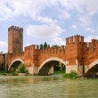 Verona Ponte Scaligero 01 - Stock Photo