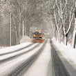 Stock Photo: Winter road clearance 02