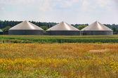 Biogas plant 75 — Stock Photo