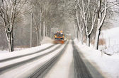 Winter road clearance 02 — ストック写真