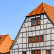 Grossraeschen half-timber house 01 — Stok fotoğraf