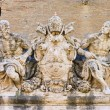 Stock Photo: Rome Sculpture above entrance from Vatic01