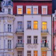 Karlovy Vary facade 02 — Stock Photo #10594984