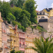 Karlovy Vary facade 05 - Stock Photo