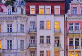 Karlovy Vary facade 02 — Stock Photo