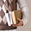 Student with books — Stock Photo #10244918